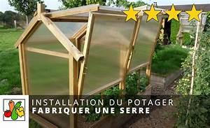 Faire Sa Serre En Polycarbonate : fabriquer une serre en bois et polycarbonate youtube ~ Premium-room.com Idées de Décoration