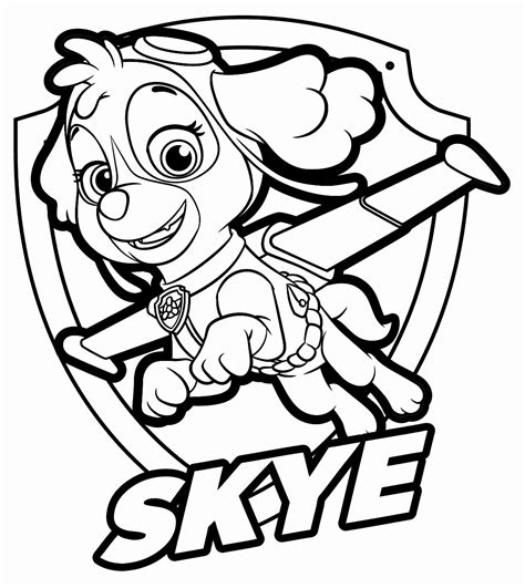 15 Best Paw Patrol Coloring Pages Visual Arts Ideas