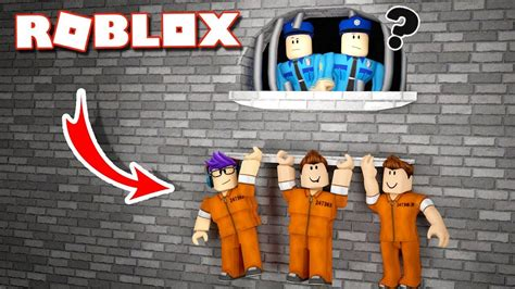 escape roblox prison jail obby funniest police station games kitchen