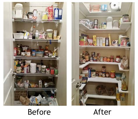 Pantry Organization Ideas Closet by Build Not As But Wider Pantry In Kitchen Pantry