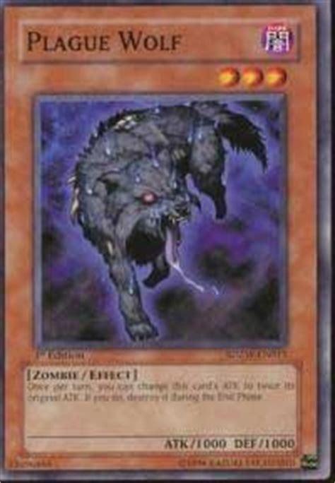 Plague Wolf  Structure Deck Zombie World, Yugioh