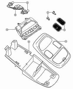 2009 Dodge Ram 5500 Wiring  Overhead Console  Trim   All
