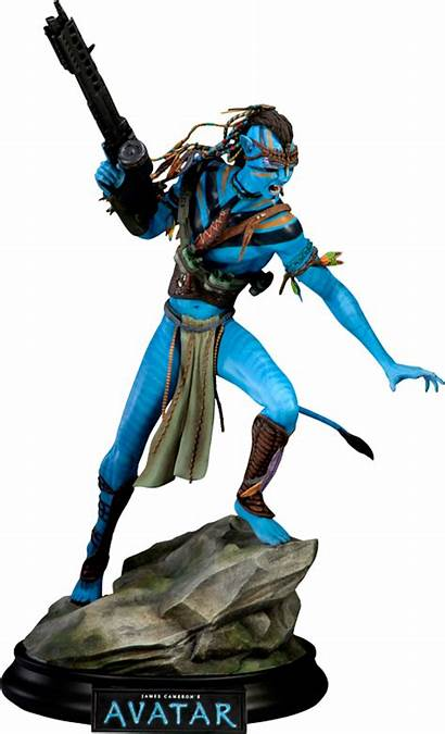Avatar Jake Sully Sideshow Statue Collectibles Polystone