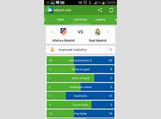 Follow all Real Madrid and Ronaldo matches with SofaScore app