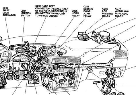 1994 Ford Aerostar Engine Diagram by I M Repairing The Horn On A 1993 Ford Aerostar 3 0 V6