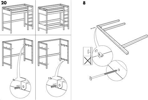 Ikea Bed Gebruiksaanwijzing by Handleiding Ikea Tovik Hoogslaper Pagina 11 16
