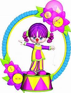 Free Birthday Clown Clipart