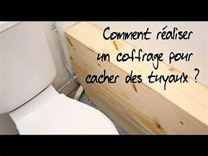 Comment Cacher Un Wc Dans Une Salle De Bain : comment r aliser un coffrage pour cacher des tuyaux youtube ~ Melissatoandfro.com Idées de Décoration