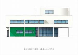 Le Corbusier Werke : le corbusier villa savoye architektur plakat poster kunstdruck bei ~ A.2002-acura-tl-radio.info Haus und Dekorationen