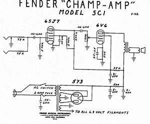 Fender Amp Wiring Diagrams