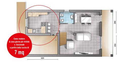 Progetti Cucina Due Soluzioni Per 7 Mq  Cose Di Casa