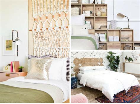 unique diy headboard ideas  transform  bedroom