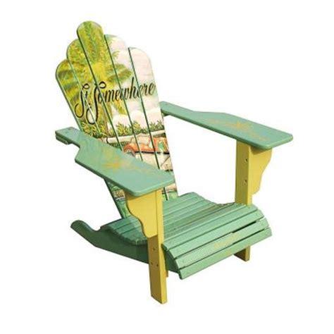 margaritaville adirondack chair meijer margaritaville seaplane deluxe adirondack patio chair