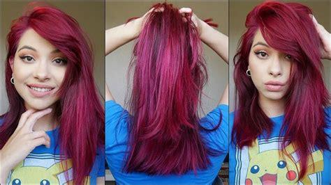 Best 25+ Magenta Red Hair Ideas On Pinterest
