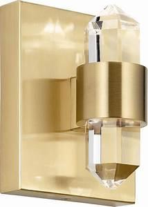 Elan, 84070cg, Arabella, Modern, Champagne, Gold, Led, Wall, Light, Fixture