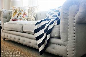 tufted nailhead sofa chesterfield inspired rolled arms With tufted nailhead sectional sofa