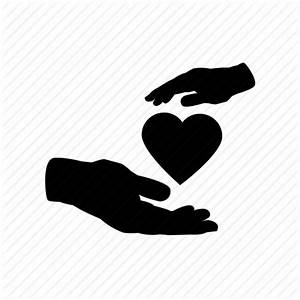 Care, giving, hands, healthcare, love, support icon | Icon ...