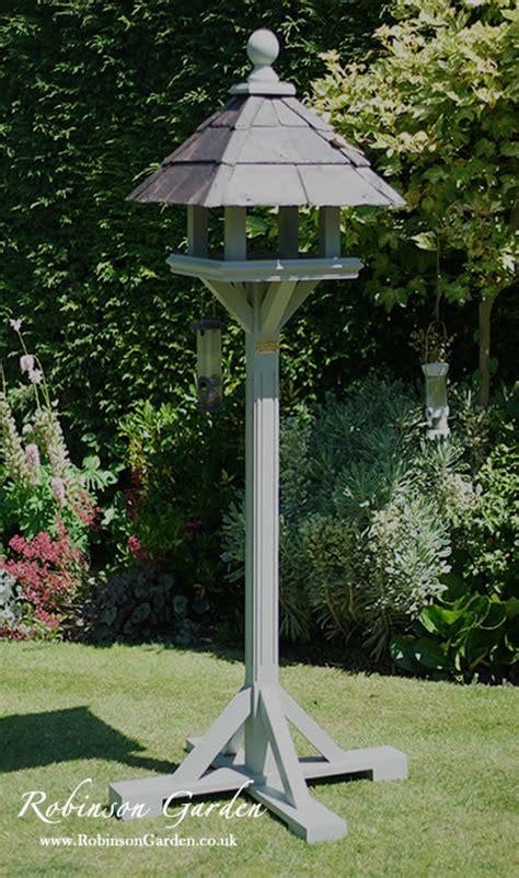 bird tables bespoke garden wooden table paint feeders ball robinson farrow houses argos plans feeder designs asda bunnings birds homebase