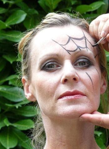 maquillage d en araign 233 e veuve trucs et deco