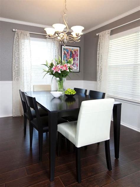striking black dining tables   modern dining