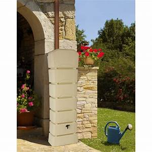 Réserve D Eau De Pluie : r serve d 39 eau de pluie murale 300 litres jardin et saisons ~ Dailycaller-alerts.com Idées de Décoration