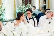 Fairy-Tale Wedding Abroad at Castle in Groom's Hometown in ...