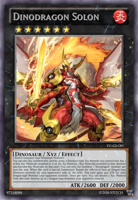 Yu Gi Oh Dinosaur Cards