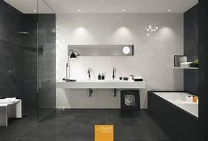 Carrelages Salle De Bain : carrelage moderne pour salle de bain meyreuil sols concept ~ Melissatoandfro.com Idées de Décoration