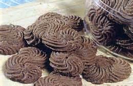 resep kue kering sagu coklat lebaran