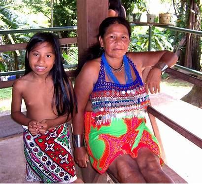 Embera Indian Village Members