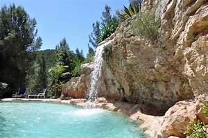 Piscine Avec Cascade : piscine naturelle avec cascade ~ Premium-room.com Idées de Décoration