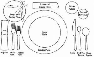 Formal Dining  The First Course