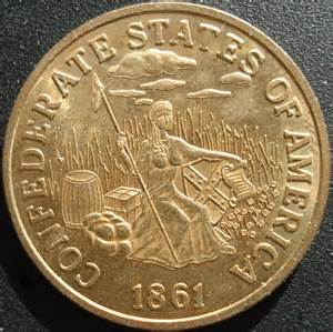 Gold Coin Confederate States of America