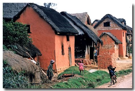 Malagasy Red-mud Houses, A Photo From Antananarivo, South