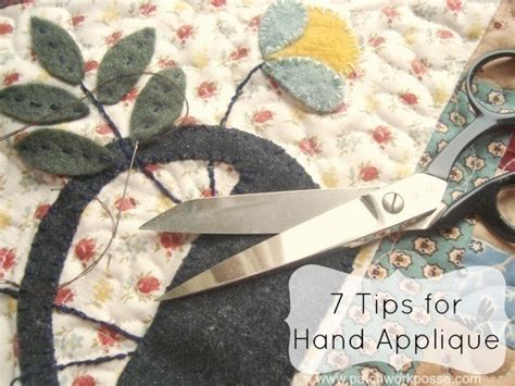 How To Applique by 7 Tips For Applique 183 How To Applique 183 Sewing On Cut