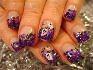 Halloween nail acrylic art class nails