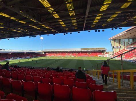 Photos at Pittodrie Stadium.