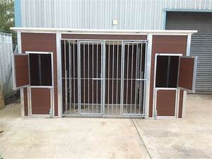 double plastic kennel and run With plastic dog kennels for sale