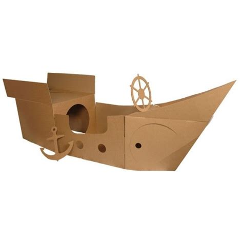 Pirate Ship Cardboard Boat by Cardboard Pirate Ship Wheel Woodworking Projects Plans