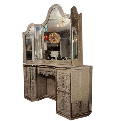 Brutalist Dresser by 1940 S Egliomise Mirrored Vanity At 1stdibs