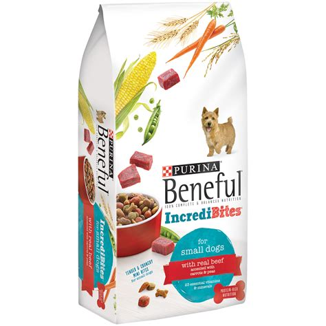 beneful incredibites dog food  lb bag
