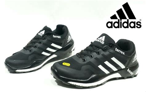 jual sepatu adidas terex fast hitam abu premium original