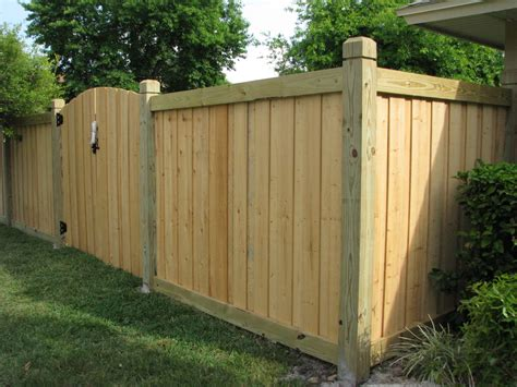 Beautiful New Capped Wood Fence & Gate Design By Mossy Oak