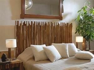 Tete De Lit Bambou : que faire avec des bambous trouvailles exotiques en 60 photos ~ Teatrodelosmanantiales.com Idées de Décoration