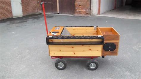 handwagen selber bauen bollerwagen handwagen oliveira optional mit dach motive