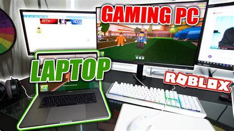 playing jailbreak   gaming pc  macbook pro