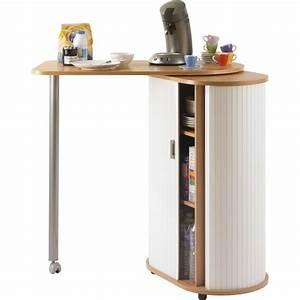 Table Rangement Cuisine : meuble micro onde avec table table de lit ~ Teatrodelosmanantiales.com Idées de Décoration