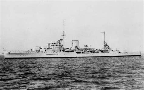 hms ajax british light cruiser ww