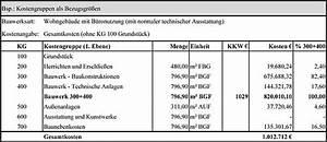 Bgf Berechnen : stufen und verfahren der kostenermittlung wikibooks sammlung freier lehr sach und fachb cher ~ Themetempest.com Abrechnung