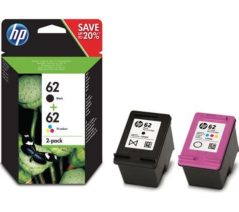 hp  black tri colour ink cartridges twin pack deals